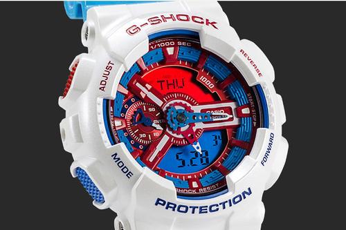 4键的卡西欧电子手表怎么调时间?调时方法